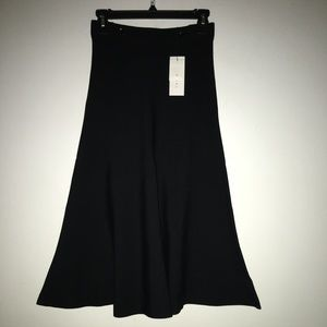 Sandro Paris Jazmine  Flare Knit  Skirt Size 2